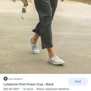 Lululemon Post Power Crop
